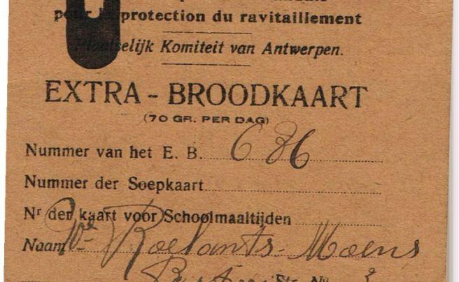 1918-broodkaart